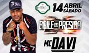 Folder do Evento: Mc DAVI no Baile do Presida