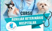 Folder do Evento: Curso de Auxiliar Veterinário Hospitalar