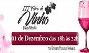 Folder do Evento: III Feira de Vinhos