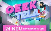 Folder do Evento: Geek na tela - 2ª Edição