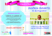 Folder do Evento: Palestra - Insônia Infantil