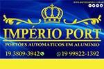Império Port - Portões Automáticos em Aluminio