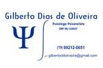 Psicanalista Gilberto Dias de Oliveira
