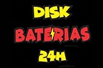 Disk Baterias 24 horas