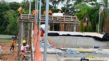 ETA III começa a receber instalações hidráulicas e elétricas