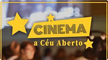 Prefeitura promove sessões de Cinema a Céu Aberto com filmes para toda a família